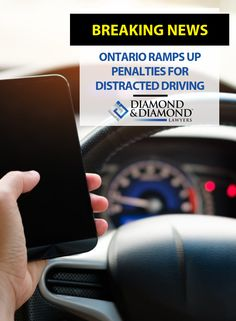 The penalties for texting and driving are about to get more real.The Ontario government is introducing a new mandatory three-day driver's licence suspension on a first conviction for distracted driving as of Jan. Distracted Driving, Personal Injury Lawyer, Current News, Ontario
