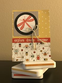 Make this fun card with the new Close to My Heart Dreamin' Big paper pack.