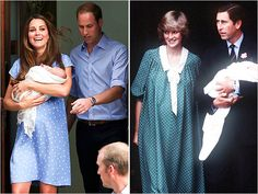Kate's royal baby reveal was just like Princess Diana's!