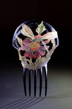 French Art Nouveau comb