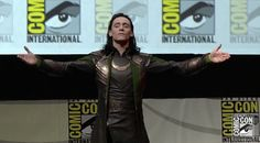 Tom Hiddleston Outstretched Arms Appreciation #4