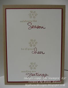 Wishing Endlessly - http://mydianedesigns.blogspot.com/ Stampin' Up!, Endless Wishes