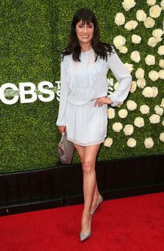 Paget Brewster at the CBS Television Studios' 2017 Summer TCA...