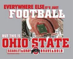 Bleed scarlet and gray!