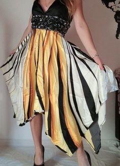 Schickes Sommerkleid Trägerkleid M/L