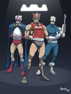 The cosmic Enforcers by MikeBock on DeviantArt