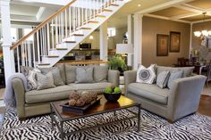 Neutral sofa with decorative pillows