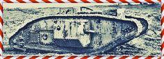Allra först kallades de första prototypen av stridsvagnar landships. De kallades sedan för Tanks, då de påminde om vattentank, även för att lura tyskarna om vad det var som utvecklades. I bild syns en brittisk Mark V-tank. Det fanns en tid då haven dominerades av slagskepp, ju större desto bättre. Britterna försökte under & efter första världskriget utveckla Landships, ingen insåg ännu att mest lämpad stridsvagn skulle förena eld med rörelse & skydd. Inte den som var störst.