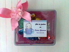 Lembrança de chá de fraudas (caixa de bombons)