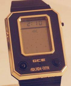 Gce arcade-time amazing multi-game & alarm w/ joystick. Retro Watches, Vintage Watches, Las Vegas, Machine Logo, Slot Machine Cake, Machine Video, Game & Watch, Car Videos, Digital Watch
