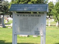 Wyuka Cemetery  Nebraska City  Otoe County  Nebraska  USA