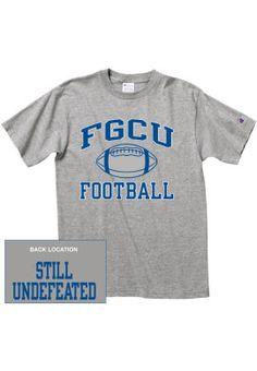 5be9f847974430 Florida Gulf Coast University Football T-Shirt   Florida Gulf Coast  University