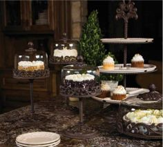 Delightfully display your delectable desserts with new pieces from The GG Collection!
