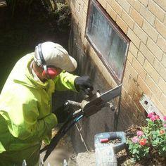 Egress window install basics from existing basement window