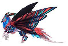 Brilliant Moth-Owl design by Tatchit.deviantart.com on @deviantART