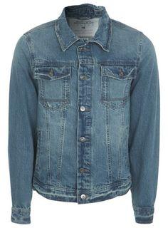 Light Wash Vintage Denim Jacket