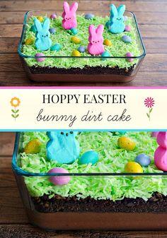 Hoppy Easter PEEPS Bunny Dirt Cake Recipe