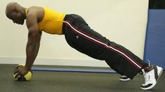 Try This! Medicine ball burpee