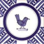 1 blackbird Delft Tiles, British Garden, Blackbird, Painting, Bathroom, Washroom, Blue Merle, Paintings, Bath Room