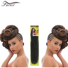 Aliexpress.com : Buy Female Wig Afro Kinky Marley Braid Hair Bundles Curly Crochet Hair Extension Freetress Braiding Crochet Braid Hair Afro Curls from Reliable hair curlers long hair suppliers on furice hair Store