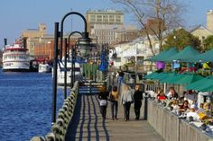 River Walk, Wilmington, North Carolina