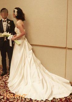ルーズアップからボブ風ダウンに変身のお洒落花嫁さま☆  大人可愛いブライダルヘアメイク『tiamo』の結婚カタログ