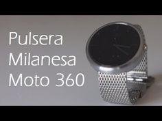 cool Correa Pulsera Milanesa metalica para el moto 360 - Youdroide