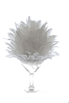 IMPROVED Premium Plush 16 Feather Ball - White - Event Decor Direct - North America's Premier