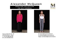ALEXANDER MCQUEEN SWALLOW COLLECTION available for a pre order Myriam Volterra - The Italian Buying Office for Fashion & LuxuryContact us to know our latest and best discounts according to your specific requirements and quantities!