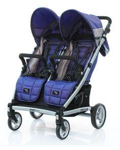 Valco Baby прогулочная Zee Two Blue Opal  — 38200р. ------------ Valco Baby Zee Two - прогулочная коляска для двойни или погодок. У нее два независимых кресла. Спинка раскладывается в горизонтальное положение. ...