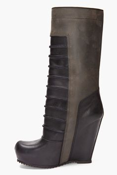 RICK OWENS for being a men's shoe why the hell are none of his wedge boots for men available in men's sizes such as a 45 or us 11? Wtf?