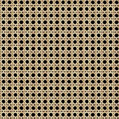 This conveniently washable and scratch-resistant wallpaper flaunts a cane design that really pops against an onyx ground. House Fence Design, Modern Fence Design, Expand Furniture, Mesh Material, Material Board, Colour Pallette, Palette, Wood Texture, Eclectic Decor