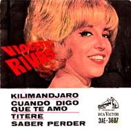 "Violeta Rivas - ""Titere"", spanish cover-version of the winning song ""Puppet on a String"" of the Eurovision Song Contest 1967"