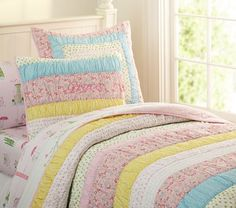 Grace Quilted Bedding   Pottery Barn Kids