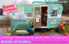 Happy Camper Mobile Art Gallery