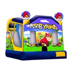 96681567e6 How To Buy Low-price And Best Angry Birds Bounce House Four  Our Provide Commercial  Bounce House