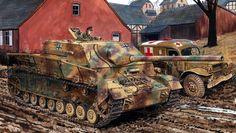Jagdpanzer IV 70 Ausf A , Ron Volstad