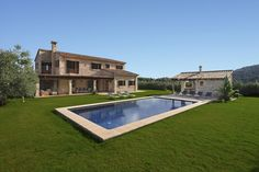 VILLA SON FERRAGUT DE BAIX this stunning villa is surrounded by olive trees and almond groves with views towards the Traumantana mountains- a truly beautiful location.
