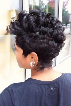 Short...more on top...love this! gorgeous!