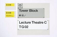 Pentagram / London College of Communication / Signage / 2015