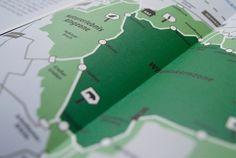 stories within architecture / Faltflyer und Interaktive Expeditionskarte / grafische Gestaltung des Ausstellungsflyers für die Heinz Sielmann Stiftung