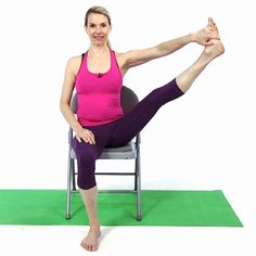 10 Yoga Poses to Do at Your Desk
