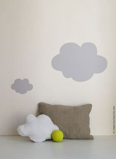 I know a boy who would love a cloud pillow.