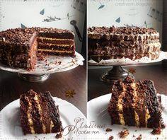 """Шоколадный торт """"Лунная ночь"""". : На крыльях вдохновения"""