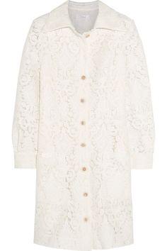 Chloé Lace Mini Dress, $4,350; net-a-porter.com     - ELLE.com