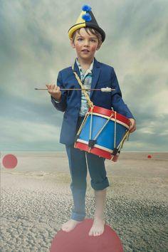 Stunning kids photography by Wanda Kujacz for Ladida spring 2016 kids fashions