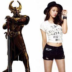 Norse Zodiac // Heimdall // Seolhyun of AOA