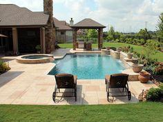 Contemporary Swimming Pools Design 151 — Custom Outdoors