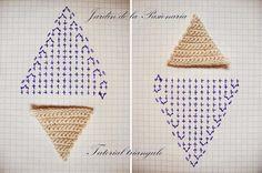 Jardín de la Pasionaria: Tutorial Vasarely en Crochet