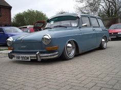 1973 Volkswagon Squareback - I had one of these in yellow, deseamed roof and solenoid doors, slammed on the floor - best car I've ever had
